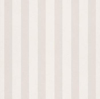 Stripes Beige White Matt wallpaper