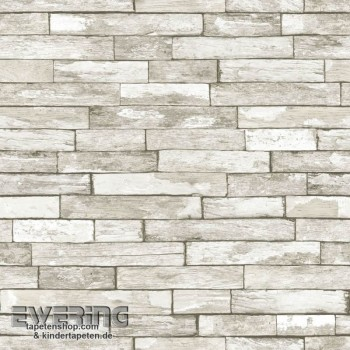 Used Look Wall Grey-Beige non-woven wallpaper
