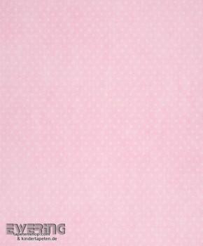 Sterne Rosa Papier-Tapete Baby-Zimmer
