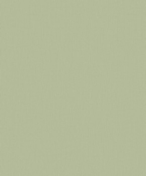 Uni non-woven wallpaper green