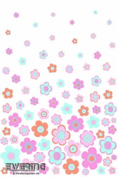 Blumen Rosa Wandbild
