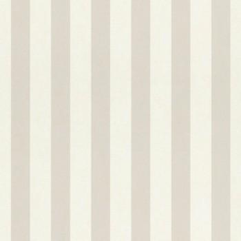 stripes wallpaper Beige White Paper Matt