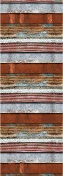 Mural sheet metal look