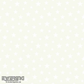 SALE 2er Set Creme Sterne Vliestapete
