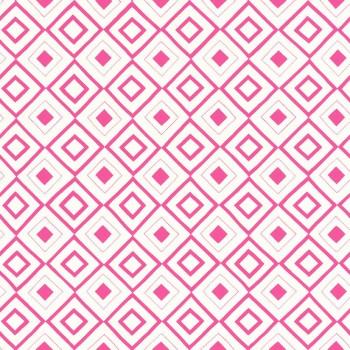 Pink Karomuster Vliestapete Mädchen