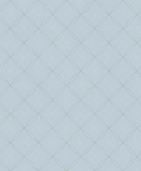 non-woven wallpaper geometric lines turquoise Aqua