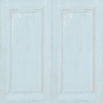 wallpaper light blue wood look children