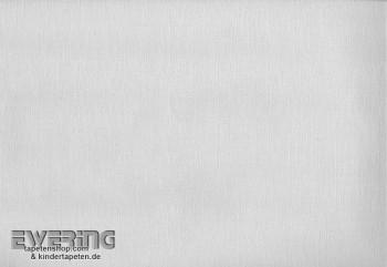 Unitapete Kinder Vliesträger Weiß Grau