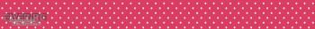 Punkte-Borte Rot