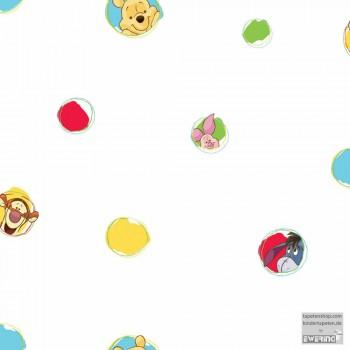 SALE 1 Rolle Papiertapete Winnie Pooh