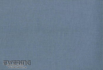 Non-woven wallpaper uni jeans blue