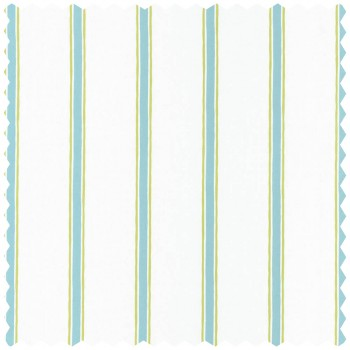 Green Blue stripes Decoration Fabric